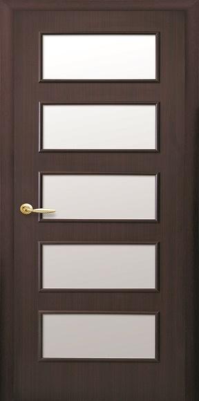 Міжкімнатні двері модель «Квадра» Е «Ева» Р2