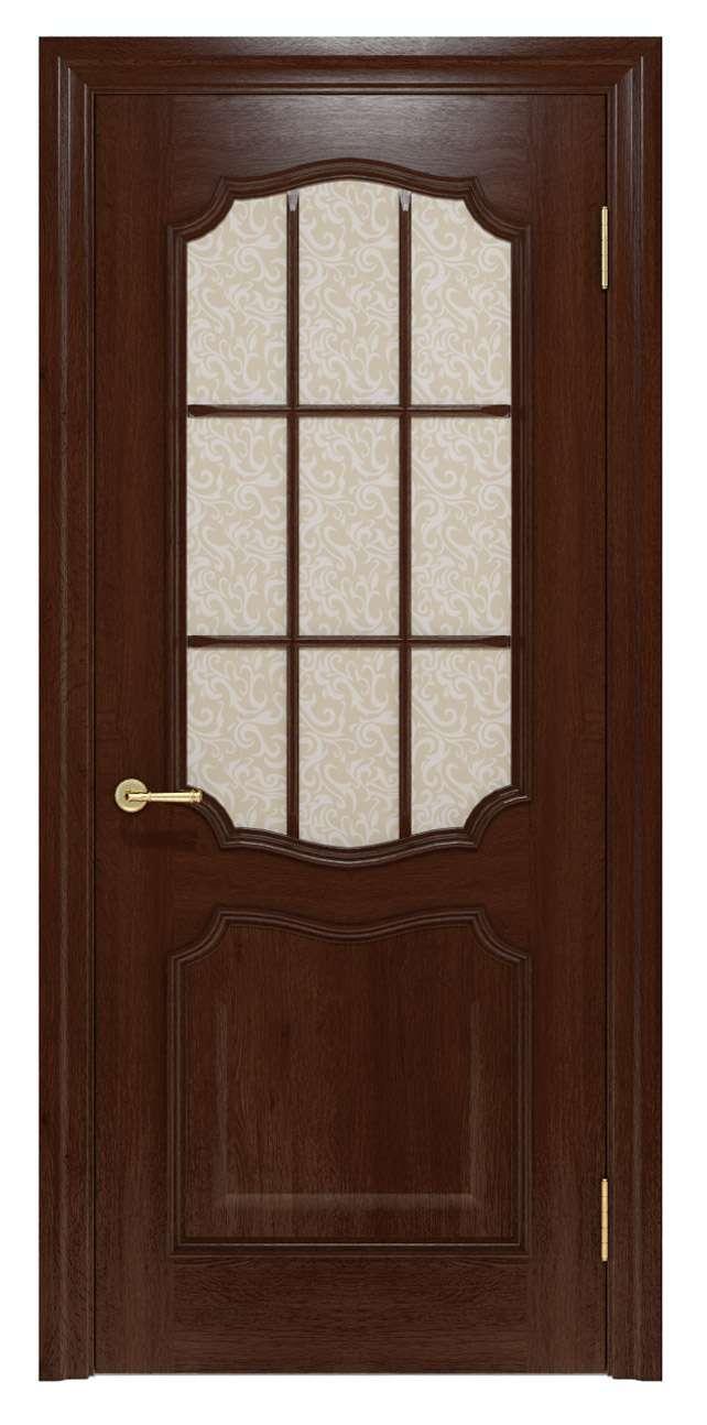 Міжкімнатні двері Elegante 022K.3 шоколадний TM